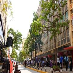 Nairobi Downtown Stock Footage