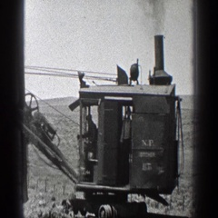 1936: workers of the industrial field; the true men of america. CALIFORNIA Stock Footage