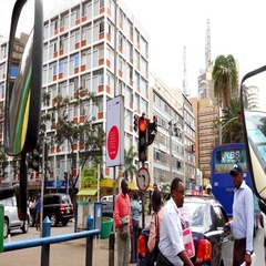 Nairobi Citylife Stock Footage