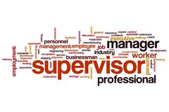 Supervisor Stock Illustration