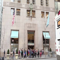 Tiffany & Company Fifth Avenue New York City Stock Footage