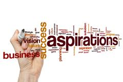 Aspirations Stock Illustration