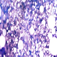 Violet Abstract Bokeh Lights Particles Loop Background. Stock Footage