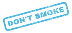 Don'T Smoke Rubber Stamp Piirros