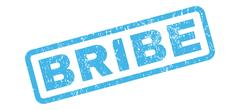 Bribe Rubber Stamp Stock Illustration