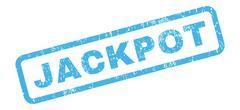Jackpot Rubber Stamp Stock Illustration