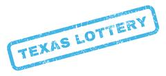 Texas Lottery Rubber Stamp Piirros