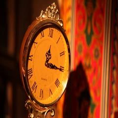 Vintage Clock Stock Footage
