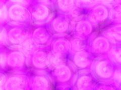 Pink spheres bokeh background Stock Illustration