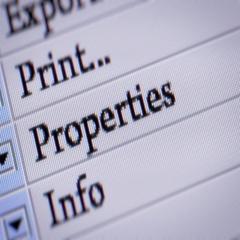 """Properties"" button. Looping. My own design of program menu. Arkistovideo"