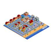 Isometric Building Set Piirros