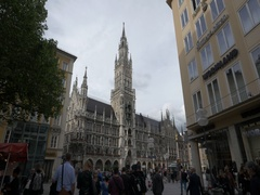 New town hall (Neues Rathaus) Munich in 4K Stock Footage