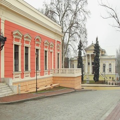 The Odessa Navy Museum and The Odessa Archaeological Museum Stock Footage