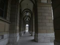 Munich residenz Bavaria Germany Stock Footage