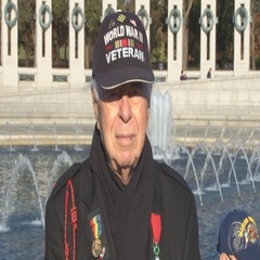 WWII veterans celebrate Veterans Day in D.C. Stock Footage