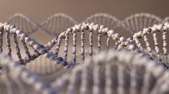 Multiple DNA molecules. Genetic disease, modern science or molecular diagnostics Stock Illustration