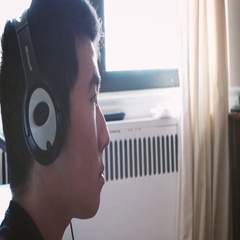 Teen Playing Video Game and Wearing Headset 4K Stock Video Stock Footage