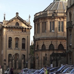 Oxford University Buildings from the street view Arkistovideo