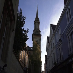 Oxford City Centre with Beautiful Historical Buildings Stock Footage