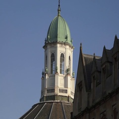 Top of The Sheldonian Theatre Oxford University Arkistovideo