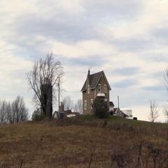 A farm house Stock Footage