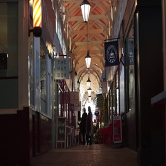 Oxford City Shopping Arcade Arkistovideo
