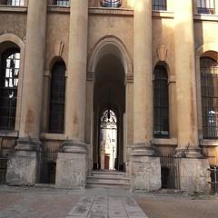 Oxford University Entrance Arch Arkistovideo