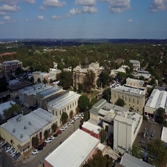 Downtown Georgetown, Texas County Building Arkistovideo