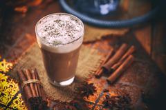 Chai tea latte Stock Photos