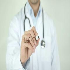 Nursing, Doctor Writing on Transparent Screen Arkistovideo