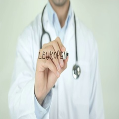 Leukopenia, Doctor Writing on Transparent Screen Stock Footage
