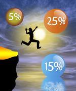 Risky Venture Stock Illustration