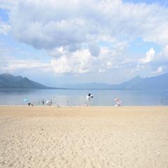 Ohrid Lake Beach Stock Footage