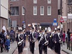 Saint Nicholas arriving Netherlands Stock Footage