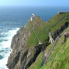 Mizen Head Co. Cork, Ireland Stock Footage