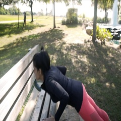 Young woman hurts her shoulder doing pushups sister checks on her 4k Stock Footage