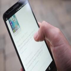 4K Apple Online Website on Smartphone Mobile Device Stock Footage