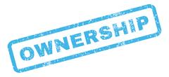 Ownership Rubber Stamp Stock Illustration