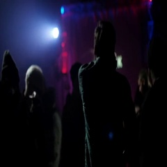 Crowd Making Party at Concert Stock Footage
