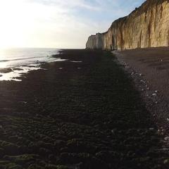 Sussex cliffs Stock Footage