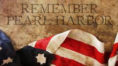 Remember Pearl Harbor Stock Illustration