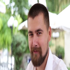 Man with beard and moustache smoking hookah Stock Footage