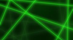 Hi-tech background. Abstract green lines crossings. 3D rendering Stock Illustration