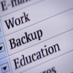 Backup. Looping. My own design of program menu. Stock Footage
