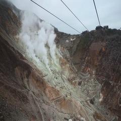 4K | Sulfur Mines Stock Footage