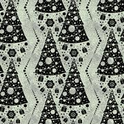 Seamless Christmas patterns Stock Illustration