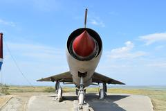 Museum copy of the aircraft Stock Photos