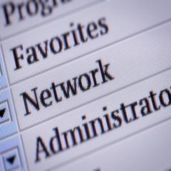 Network. looping. My own design of program menu. Stock Footage