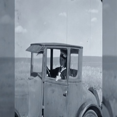 Canadian Soldier Salutes Sailor Old Car WW2 1940s Vintage Film Home Movie 10653 Stock Footage