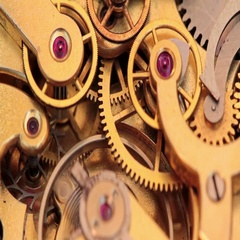 The Mechanism Of A Pocket Watch Stock Footage